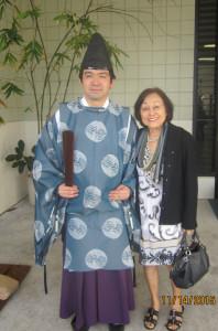 Mom & Reverand