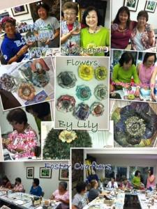 Foster Garden Newspaper Flower Class